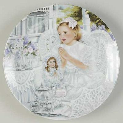 collector point plate item bless us o lord for these thy gifts