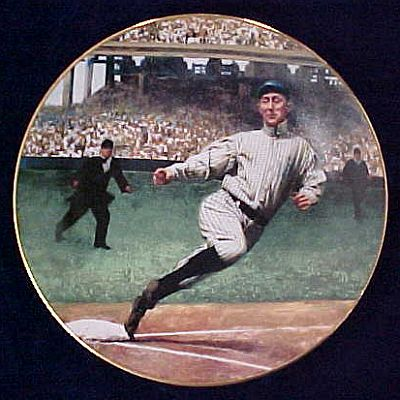 Collector Point - Plate Item Ty Cobb: The Georgia Peach